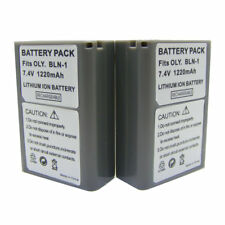 2x BLN-1 Battery New for Olympus BLN1 OM-D PEN F E-M5 EM5 Mark II E-M1 EM1 E-P5