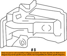 FORD OEM F-150 Door Side Rear View Mirror-Turn Signal Lens Left FL3Z13B375CA