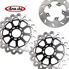 For SUZUKI GSXR1000 2001 2002 GSX-R 1000 Front Rear Brake Disc Rotors GSXR750