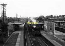 PHOTO  LMS ROYAL SCOT LOCO NO 46158 THE LOYAL REGIMENT AT LEIGHTON BUZZARD ON 4T