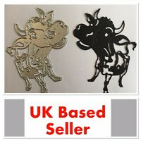 Funky Cow Metal Cutting Die - Quirky Card Making And Scrapbooking