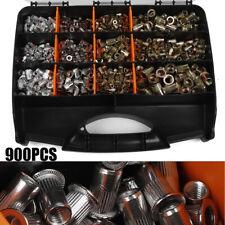 900pcs Rivet Nut Tool Kit Acier Inoxydable Rivnut Insert Fileté Nutsert M3-M10