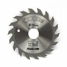 Piranha 150mm x 30mm 18T TCT Circular Saw Blade for Hard & Soft Wood