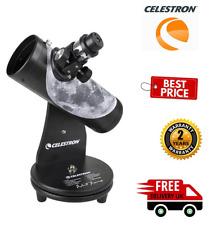Celestron FirstScope 76mm f/4 Signature Series Moon Alt-Az Reflector (UK Stock)