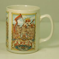 Vintage 1992 Mary Engelbreit coffee mug Queen of Everything ceramic collectible