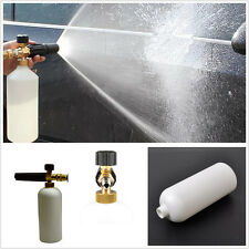 Portable 1L Autos Snow Foam Lance Cannon Pressure Washer Gun Bottle Cleaning Kit