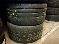 2x Sommerreifen 295/35 ZR 20 105Y Pirelli P Zero 5mm DOT 0114