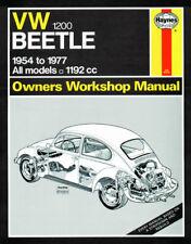 VW Beetle 1200 Haynes Manual 1954-77 1.2 Petrol Workshop