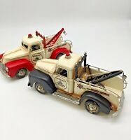 Recovery Truck Pick Up Vintage Tin Plate Giftware Cars Planes Retro Gift Display
