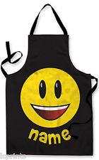 PERSONALIZZATO EMOTICONS bambini grembiule cottura al forno ACQUA da gioco