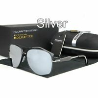 Men's HD Aviator Polarized Sunglasses Outdoor Driving UV400 Sun Glasses Eyewear