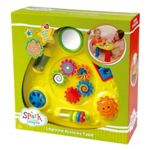 New Spark Learning Activity Table Ages 12 months & Up Imagination Gift Toddler