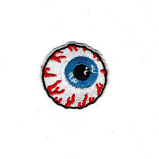"2"" Eyeball Patch Iron On Embroidered patches blood shot mishka eye ball"