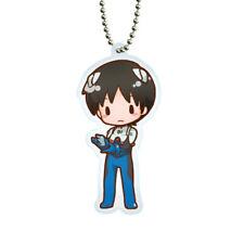 Evangelion Shinji Ikari Character Acrylic Key Chain Ball-Chain Mascot Sega V.2