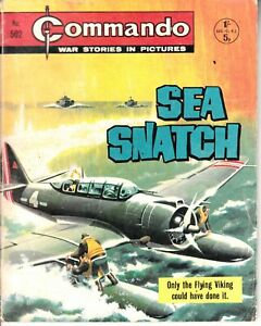 COMMANDO COMIC - No 502   SEA SNATCH