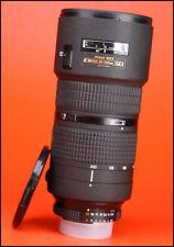 Nikon AF 80-200mm F2.8D Nikkor ED AF Telephoto Zoom Lens with Front & Rear Cap