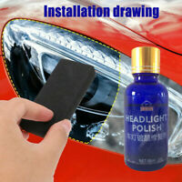 9H Hardness Auto Car Headlight Len Restorer Repair Liquid Polish Cleaning Tool