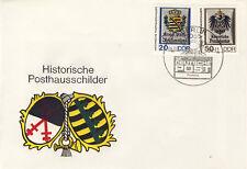 Ersttagsbrief DDR MiNr. 3303, 3304, Tag der Werktätigen des Post- und Fernmeldew