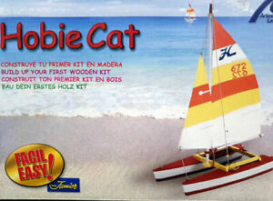 Kit madera Hobie Cat Optimist facil montaje Artesania Latina