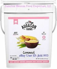Augason Farms Survival & Emergency Food Storage Yellow Cornmeal 4 Gallon Pail