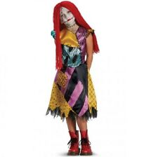 licensed disney nightmare before xmas sally deluxe character costume child girls