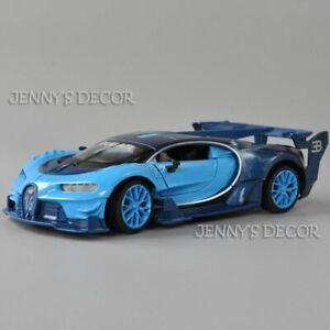 Miniature 1:24 Scale Bugatti Chiron GT Replica Collection Diecast Car Model Toys