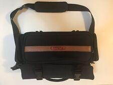 Vintage Pullman Camera Carry Bag Camcorder Case DSLR SLR Video Cam Black Large