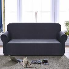 Enova Home Jacquard Polyester Stretch Fabric Loveseat Slipcover For Living Room