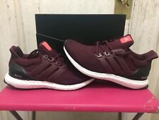 adidas Ultra Boost 1.0 Burgundy Maroon White Black AF5836 Men's Size 8-12
