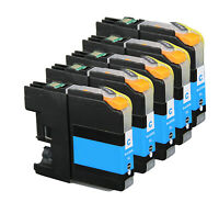 Inkjet Cartridges for Brother LC203XL LC203C works for MFC J460DW J480DW J485DW