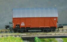 DB Covered goods wagon    by ARNOLD    N Gauge   (8)