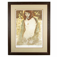 """""""Autumn Grace"""" by Mark Groseclose Signed Ltd Edition #8/250 Color Etching w/ CoA"""