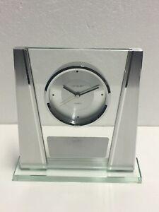 Danbury Clock Co. Things Remembered Quartz Glass Mantle Clock