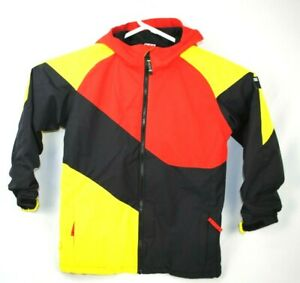 Ride Mens Snowboard Ski Jacket Coat Size Boys Large 14-16 Color Block