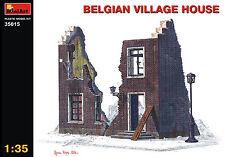 MiniArt 1/35 35015 Belgium Village House (WWII Military Diorama)