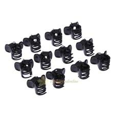 100pcs/Bag Black Hair Clips Clipper Clamp For Women Ladies Plastic 6 Claws Kit