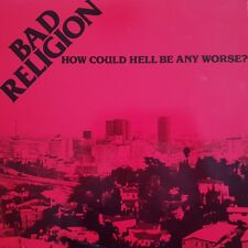Bad Religion How Could Hell Be Any Worse 14 Track Vinyl Album Punk/Hardcore