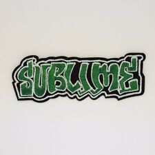 Sublime Patch - Iron On Badge Embroidered Motif - Ska Punk Music Band - #279