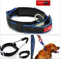 German Brand PatentoPet® Collars +Integrated Short Leash Premium Quality FAST PO