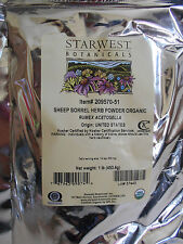 Fresh organic Sheep Sorrel Herb powder 1lb (16oz) fever diarrhea scurvy
