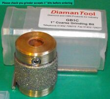 1 inch Grinding Bit  Coarse Speed for stained glass