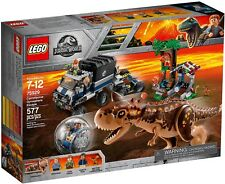 LEGO Jurassic World 75929 - Fuga Dal Carnotaurus Sulla Girosfera NUOVO