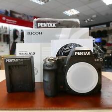 USATO Pentax K-3 corpo della fotocamera con 17203 istruzioni - 1 Anno Gtee