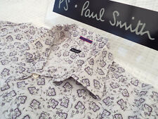 "PAUL SMITH Mens Shirt 🌍 Size 16.5"" (CHEST 44"")🌎 RRP £95+📮FLORAL LIBERTY STYLE"