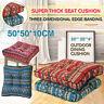 AU Seat Cushions 50x50cm Square Soft Chair Pad Mat Dining Garden Patio Home