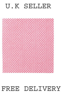 2Work Med Weight Cloth 380x400mm Red (Pack of 5) 2W08162