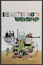 Beastie Boys The Mix-Up 2007 Double-Sided Promo Poster