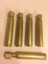 5 Custom Brass Speed Loaders for loose muzzleloader powder. 95-100 Grain Cap.