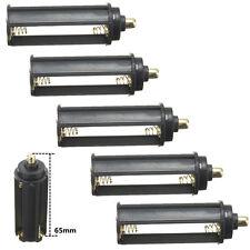 5stk. 3x Micro AAA Batterie Konverter Adapter Batteriehalter Kunststoff Halter