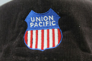 Union Pacific Railroad Corduroy Hat Cap Snapback New with Tags